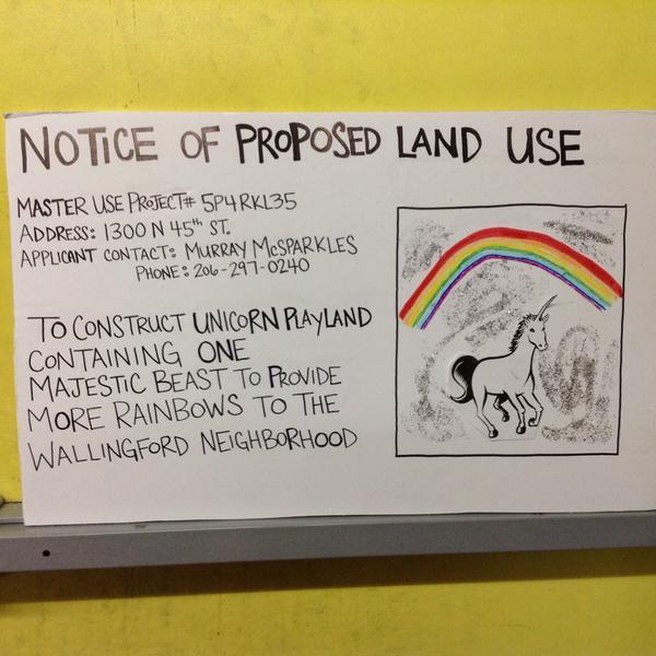 Mayor Authorizes Archie McPhee's Unicorn Playland
