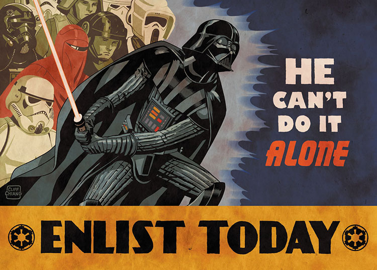 Enlist Today by Cliff Chiang