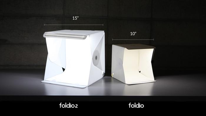 Foldio Size