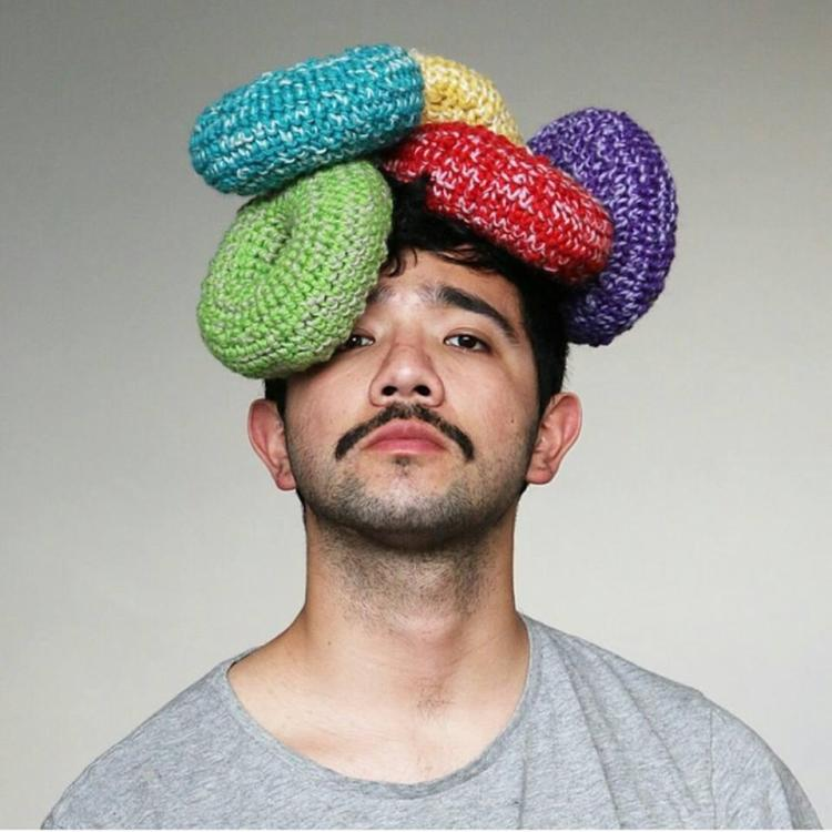 Fruit Loops Crocheted Hat