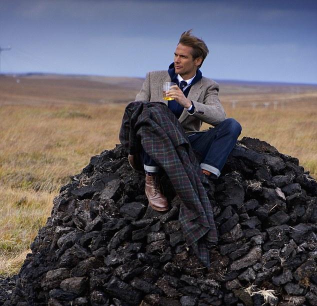Harris Tweed Johhnie Walker Model