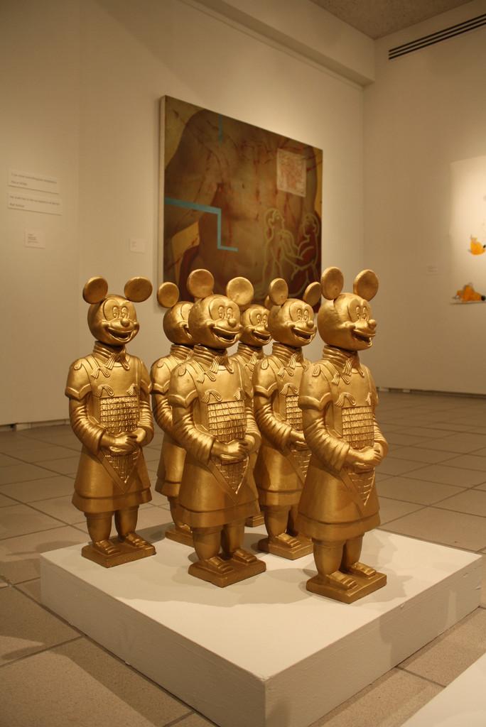 Xi'an-American Warriors Terracotta Statues by Lizabeth Eva Rossof
