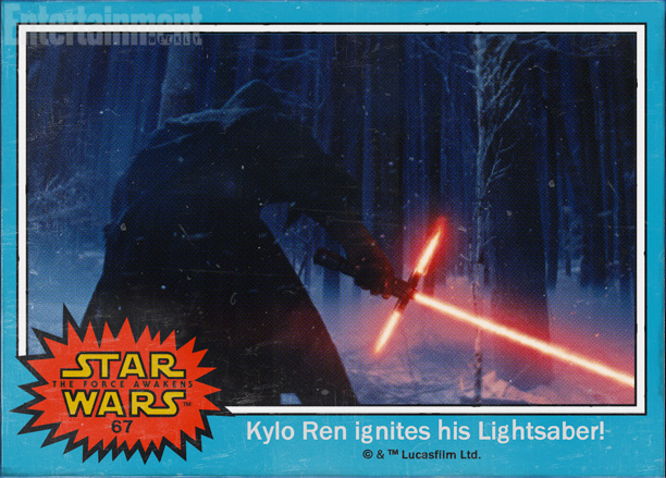 #67 — Kylo Ren ignites his Lightsaber