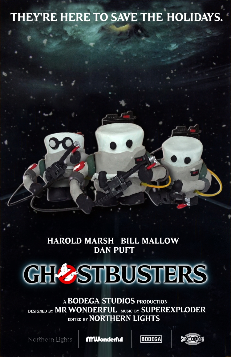 Ghostbusters Marshmallow