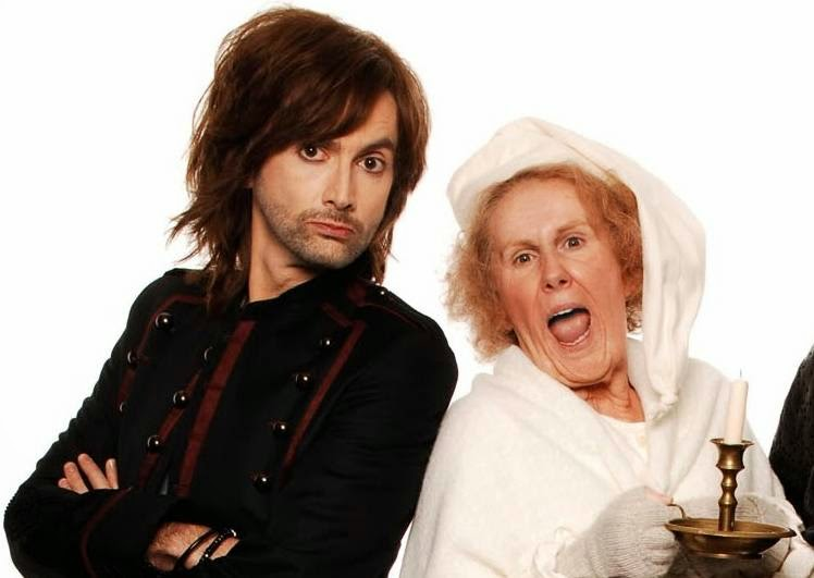 Nan and Ghost of Christmas Present