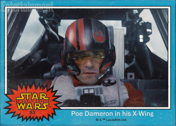#53 — Poe Dameron in his X-Wing