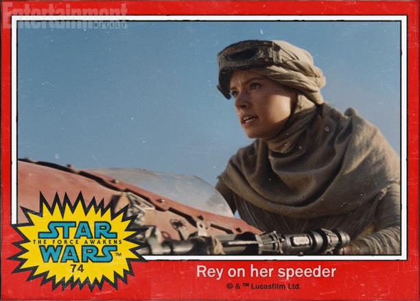 #74 — Rey on her Speeder