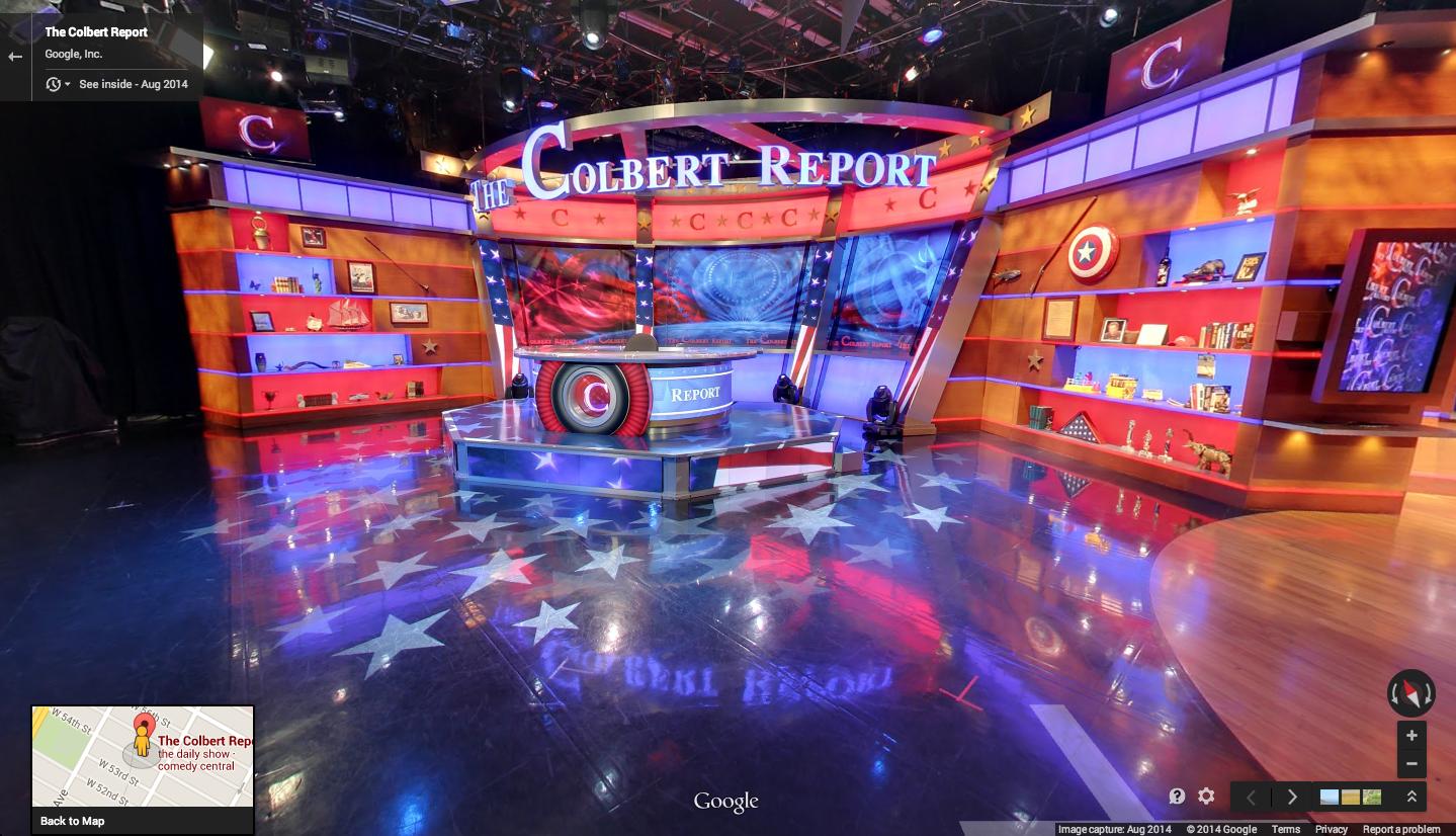 colbert report book tour