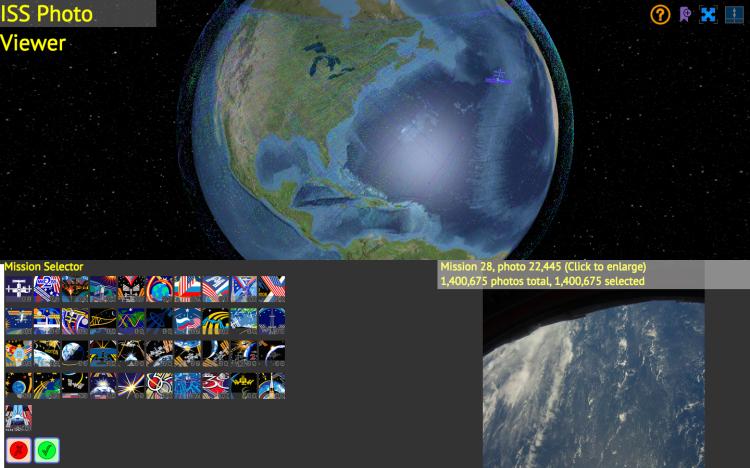 International Space Station Visualization