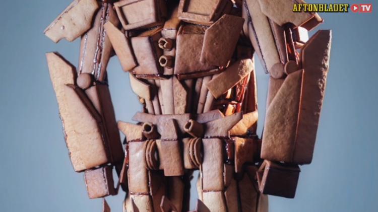 Gingerbread Optimus Prime body