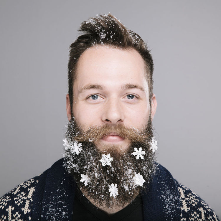 The Twelve Beards Of Christmas Whimsical Photos Of Bearded Men