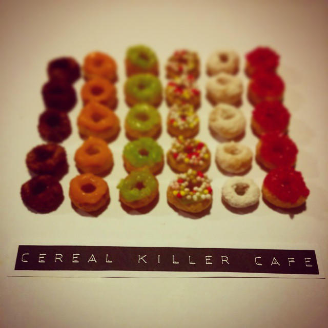 Tiny Cereal Doughnuts