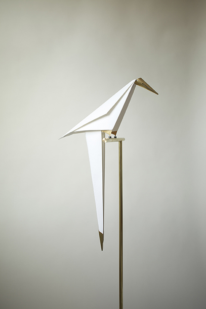 Origami Bird Light by Umut Yamac