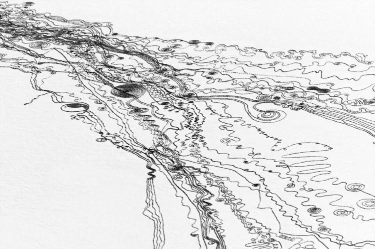 Snow Drawings by Sonja Hinrichsen
