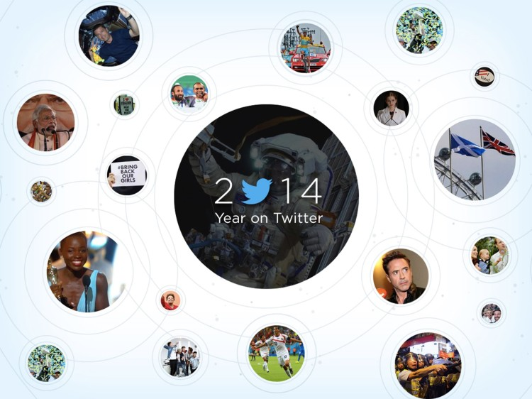 Twitter Takes a Look Back at 2014 With a Recap of Major Events and Celebrity Perspectives
