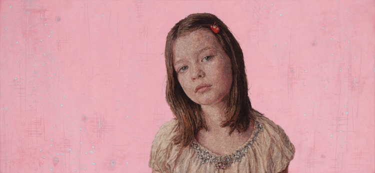 Astonishingly Lifelike Embroidery Portraits by Cayce Zavaglia