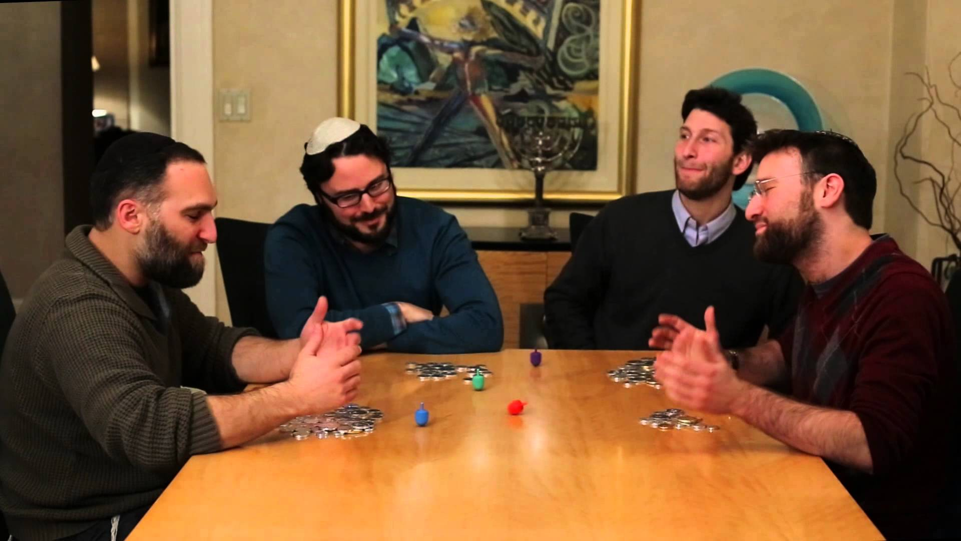 A Cappella Group 'Shir Soul' Uses Colored Dreidels to ...