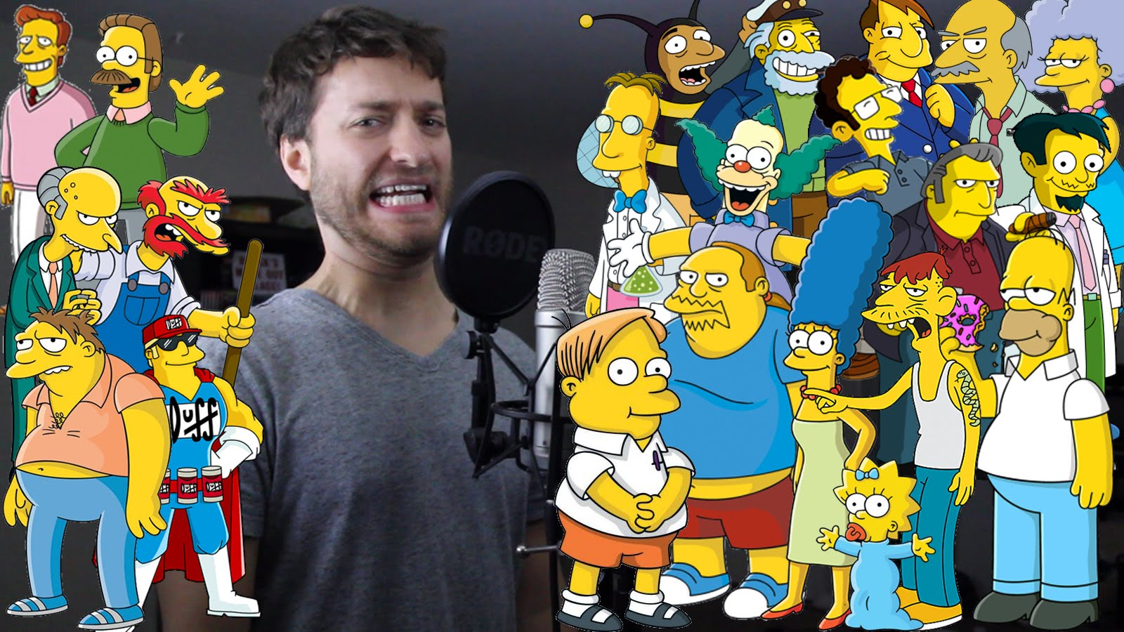 Симпсоны герои имена последним предметом
