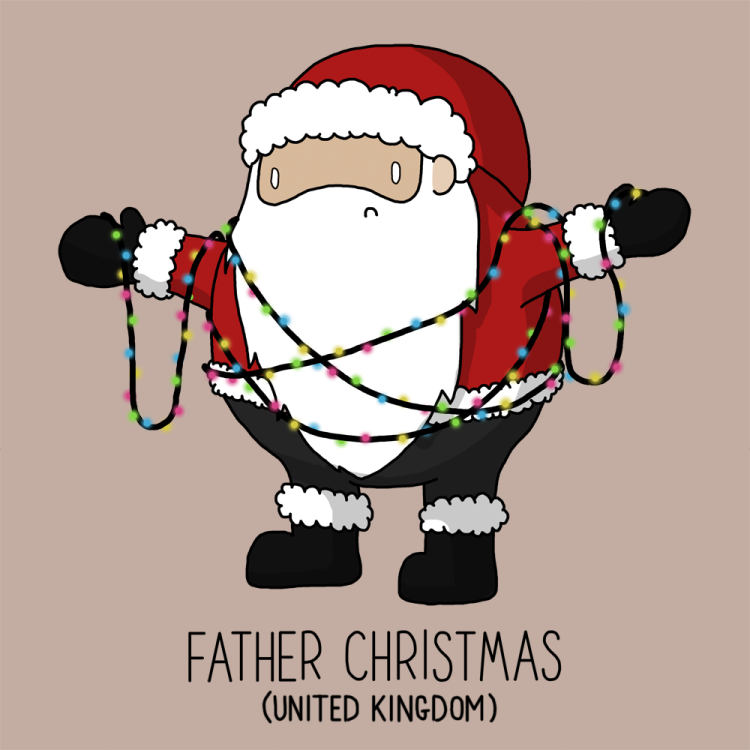 father christmas name in french