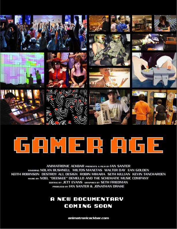 Gamer Age Poster