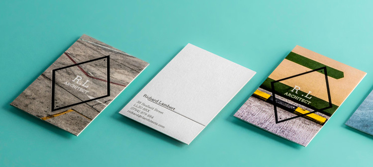 New Letterpress Business Cards by MOO