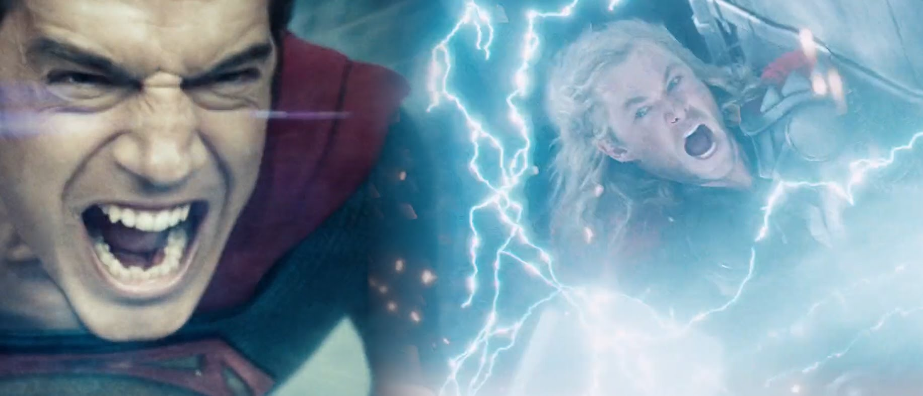 Live-Action Marvel and DC Comics Superheroes Face Off Against Each Other in an Epic Movie Trailer Mashup