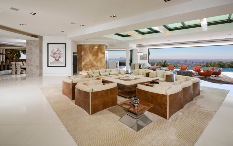Minecraft Creator Markus Notch Persson Buys A Swanky Beverly Hills Megamansion For 70 Million on Kitchen Design Floor Plan Creator