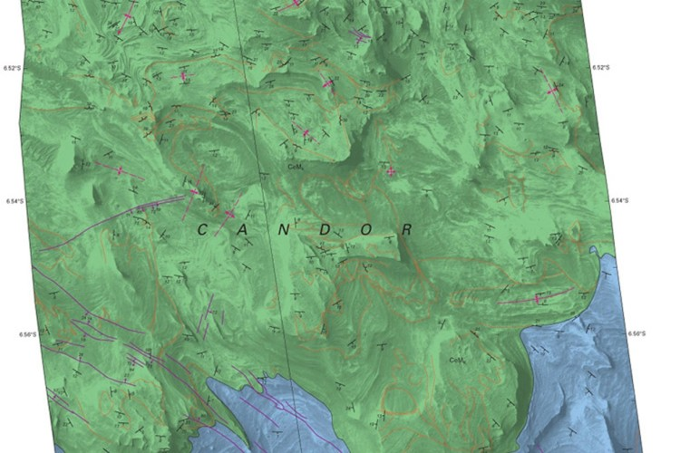mars candor map