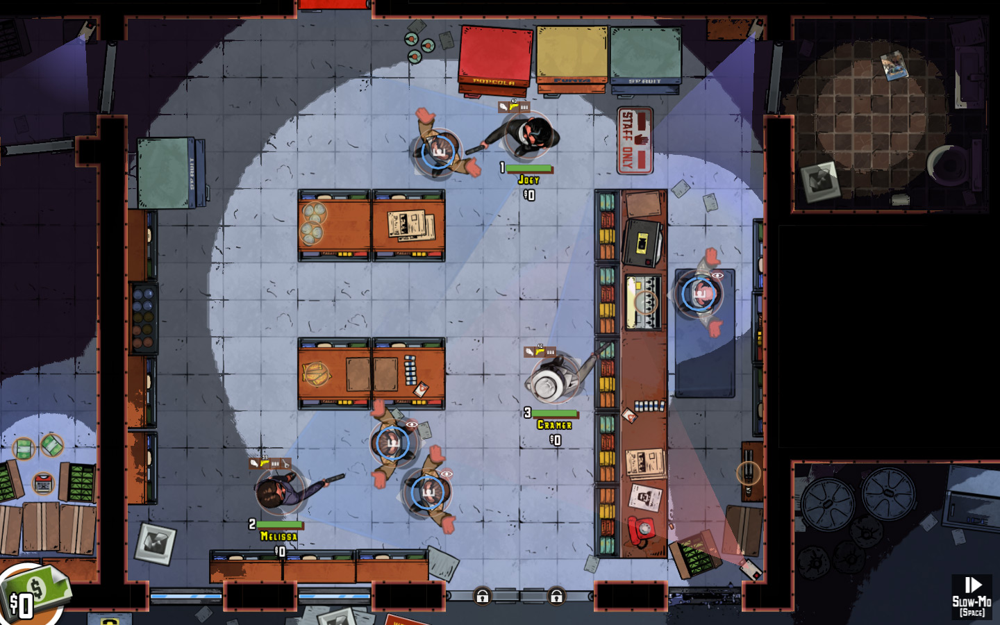 'The Masterplan', A Video Game That Tasks Players With Putting Together a Crew and Pulling Off the Perfect Heist