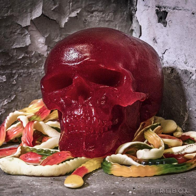 Giant Gummy Skull