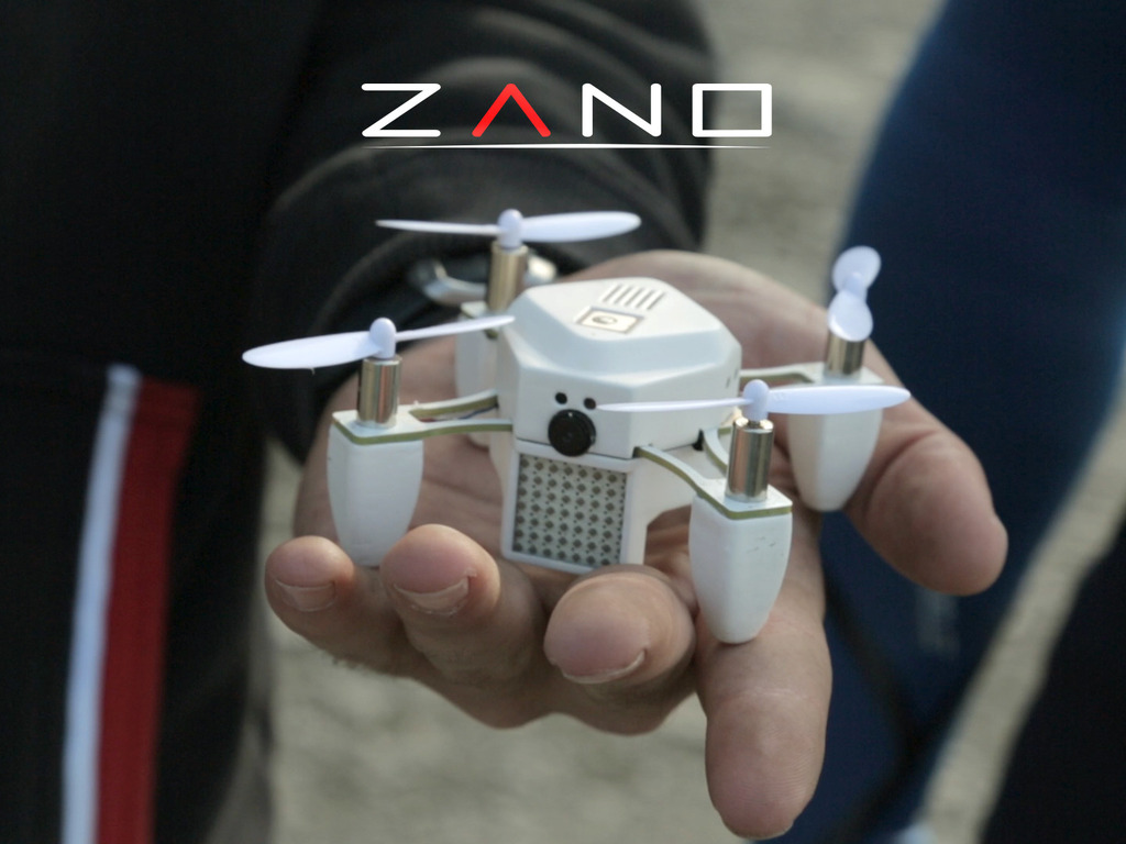 ZANO A Palm Size Nano Drone With Built In HD Video Capture