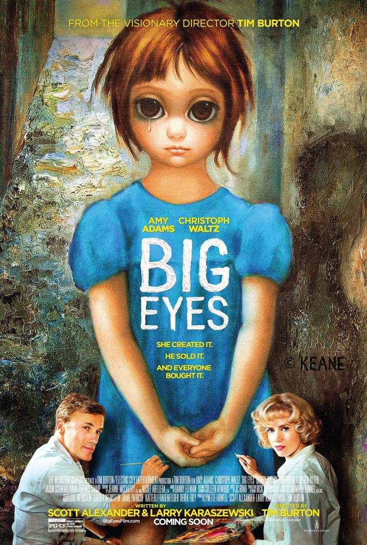 Big Eyes Directed by Tim Burton