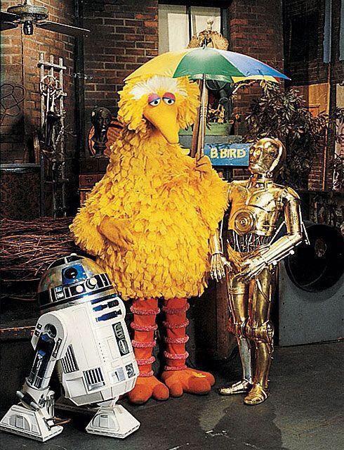 R2-D2 Sesame Street