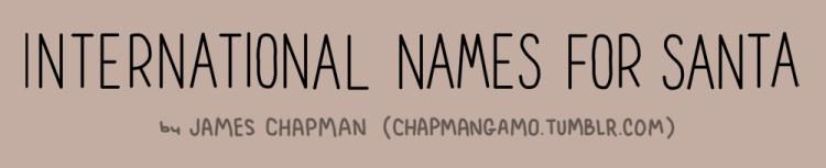 santa names