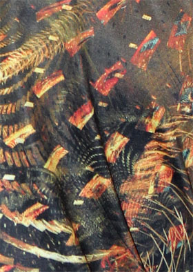 Algorithmic Abstract Art T-Shirt by Scott Draves