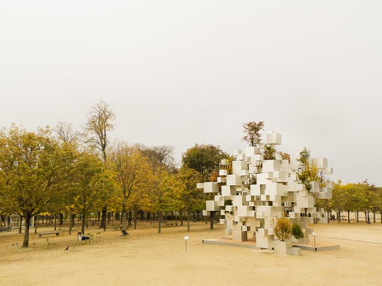 Many Small Cubes by Sou Fujimoto