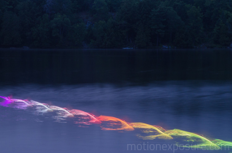Lighting Painting Photos of Human Movement by Stephen Orlando