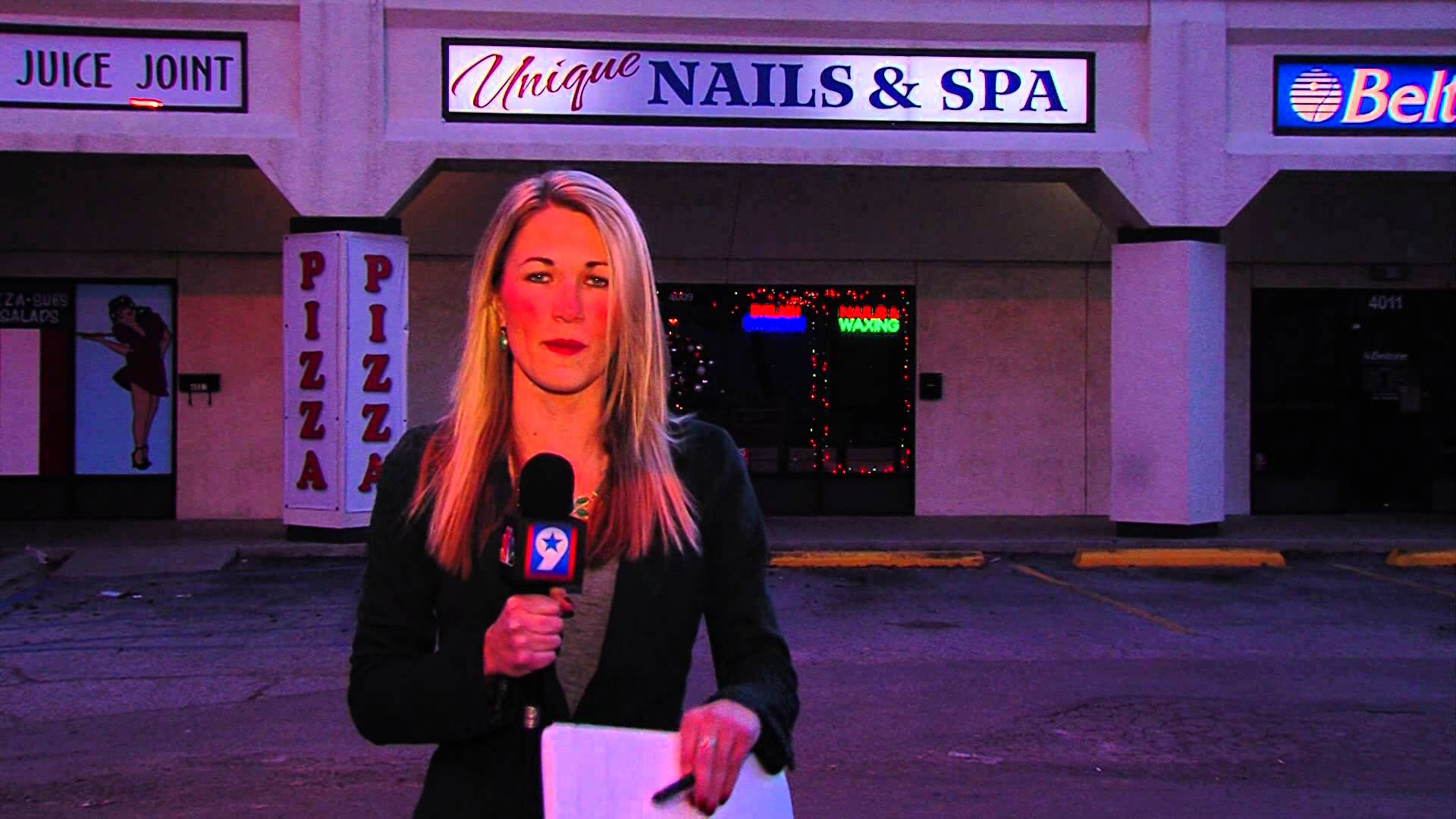 Texas Reporter Kim Powell Prepares for a Live Broadcast by Perfectly Reciting 'Alphabet Aerobics' by Blackalicious