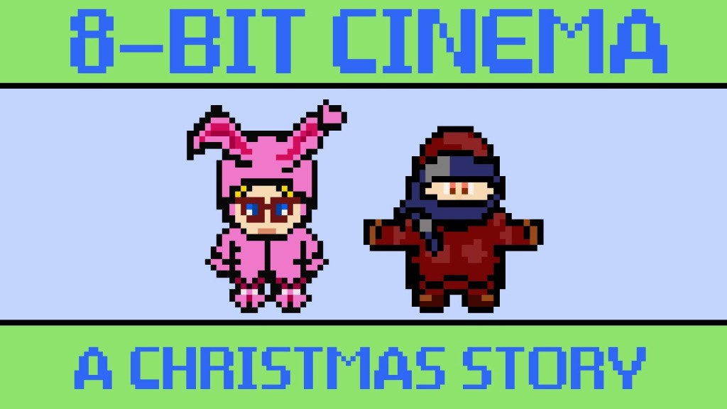 The Classic Holiday Film 'A Christmas Story' Retold as an 8-Bit Animated Video Game