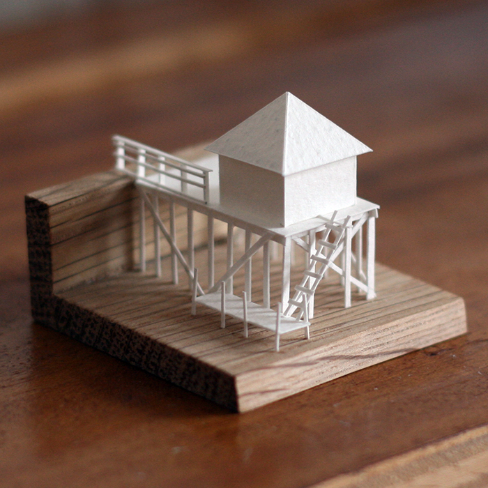Paperholm Miniature Paper City by Charles Young