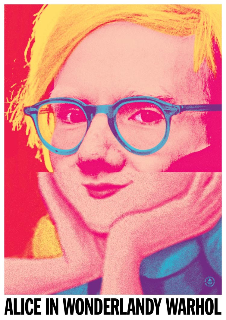Portrait Mashups Combine Two Pop Culture Figures