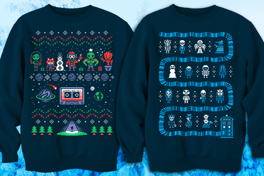 Geeky Sweaters by Drew Wise