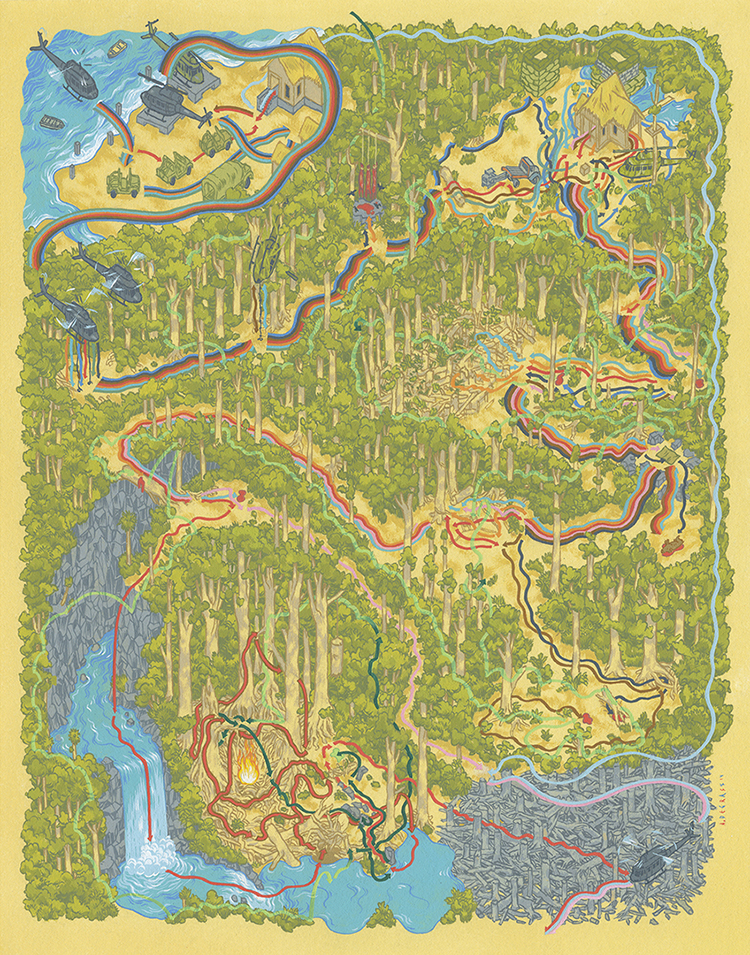 Paths of the Predator by Andrew DeGraff