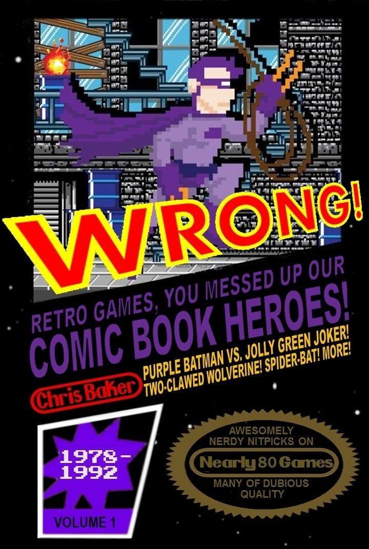 Wrong Superhero Video Game Book