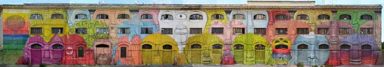 New Street Art Mural by BLU