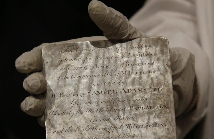 Boston Time Capsule Opened