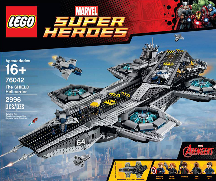 LEGO SHIELD Helicarrier