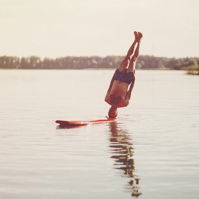 Upside Down Travel Photos by Anton Charushin
