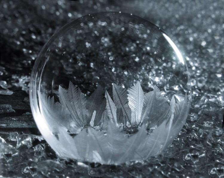 Photos of Frozen Soap Bubbles by Cheryl Johnson