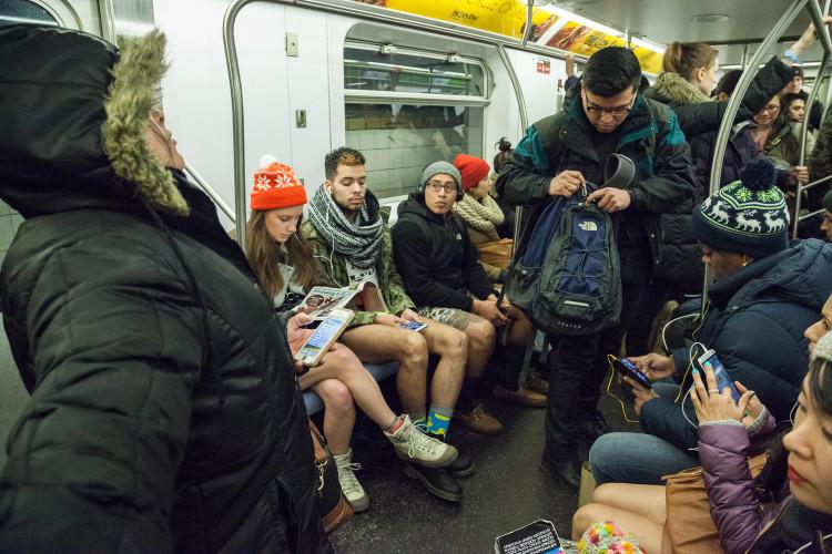 2015 No Pants Subway Ride